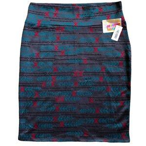 NWT LuLaRoe Cassie Skirt 2XL